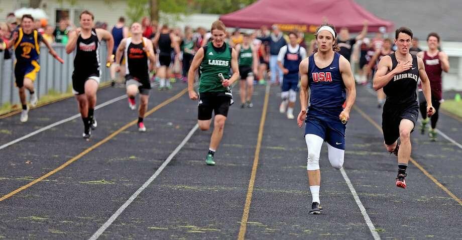 Division 4 Track & Field Regional 2018 Photo: Paul P. Adams/Huron Daily Tribune