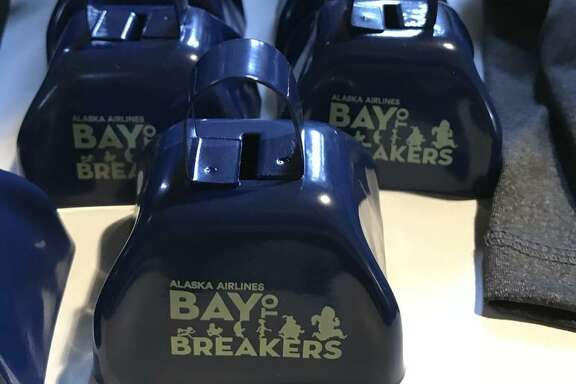 Commemorative cowbells are among the many items available for purchase a day before the big race.
