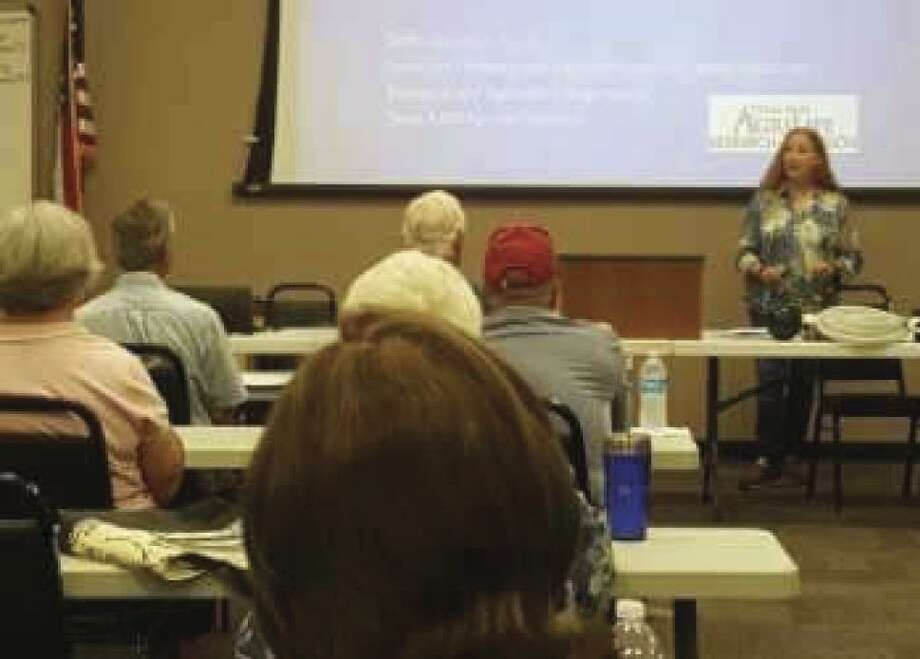 Dozens gathered Friday at the Montgomery County Extension Office to learn about rainwater harvesting for irrigation, livestock, wildlife, and firefighting.