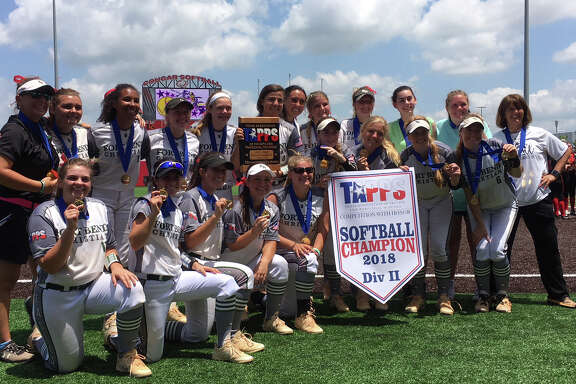 The Fort Bend Christian Academy softball team captured its third consecutive TAPPS state championship, seventh in program history, with a 10-0 defeat of Fort Worth Christian, May 19 at Crosby High School.