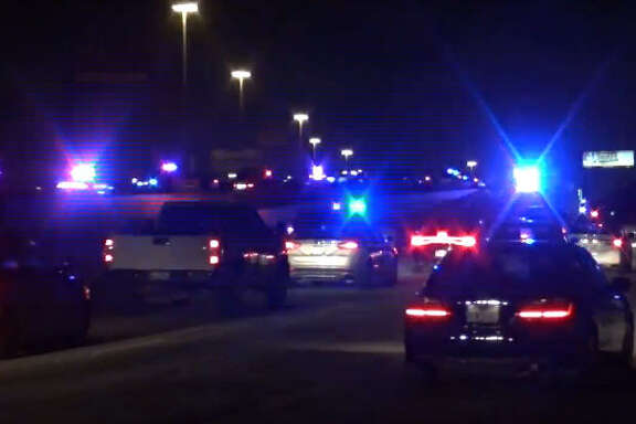 A woman died overnight after she was hit by a car on Katy Freeway.
