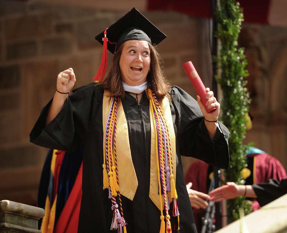 Fairfield University Graduation 2020.Fairfield University Graduates Class Of 2018 Connecticut Post