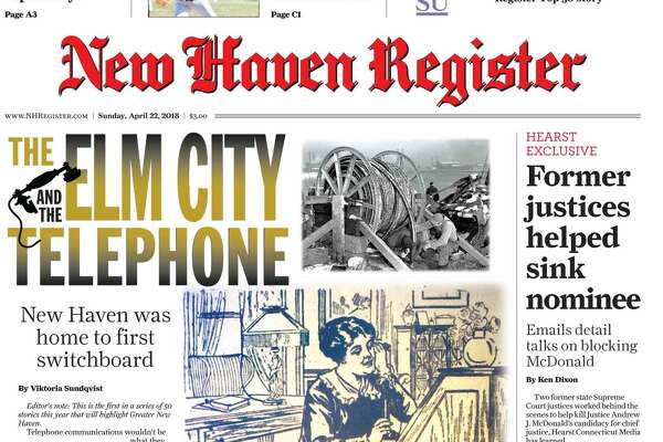Part 1 of 50: New Haven was birth place of the modern telephone