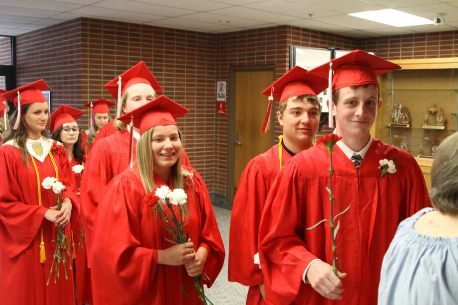 Caseville held its commencement ceremonies on Saturday, May 19. Photo: Coulter Mitchell/For The Tribune