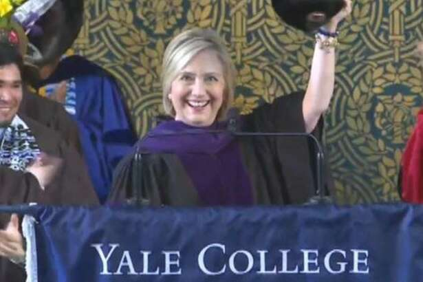 Hillary Rodham Clinton at Yale Class Day