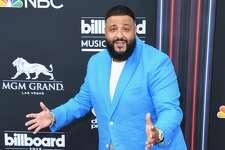 LAS VEGAS, NV - MAY 20:  Recording artist DJ Khaled attends the 2018 Billboard Music Awards at MGM Grand Garden Arena on May 20, 2018 in Las Vegas, Nevada.  (Photo by Jeff Kravitz/FilmMagic)