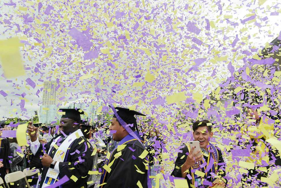 Click through the slideshow to see how local students have decorated their mortar boards for commencement ceremonies through the years.