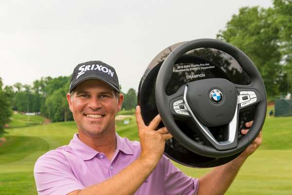 West Orange-Stark graduate Michael Arnaud became the third golfer with Southeast Texas ties in less than a year to win a professional event, besting his previous career low twice and winning the Web.com Tour's BMW Charity Pro-Am in Greer, South Carolina. (Web.com Tour)