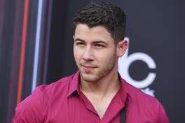 Nick Jonas arrives at the Billboard Music Awards at the MGM Grand Garden Arena on Sunday, May 20, 2018, in Las Vegas. (Photo by Jordan Strauss/Invision/AP)