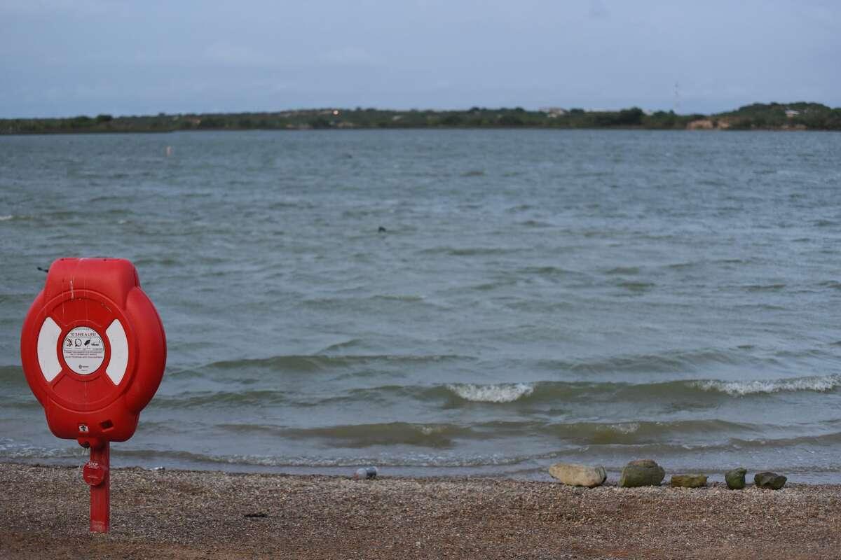 A near-drowning was reported Sunday, May 20, 2018 at Lake Casa Blanca.