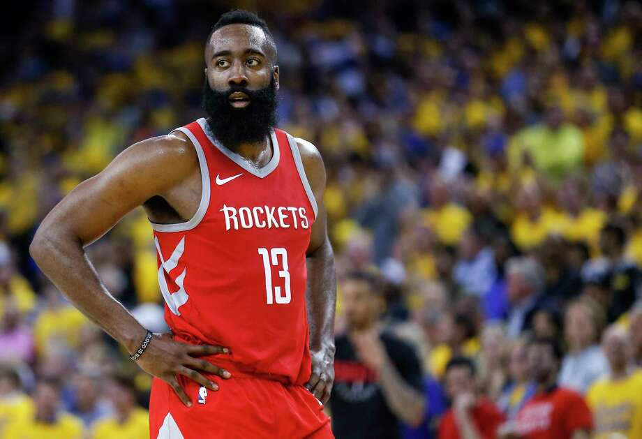 James Harden faces his second Game 7 in four years with the Rockets on Monday night. The other was a victory over the Clippers in the second round of the 2015 playoffs. Photo: Michael Ciaglo, Houston Chronicle / Michael Ciaglo