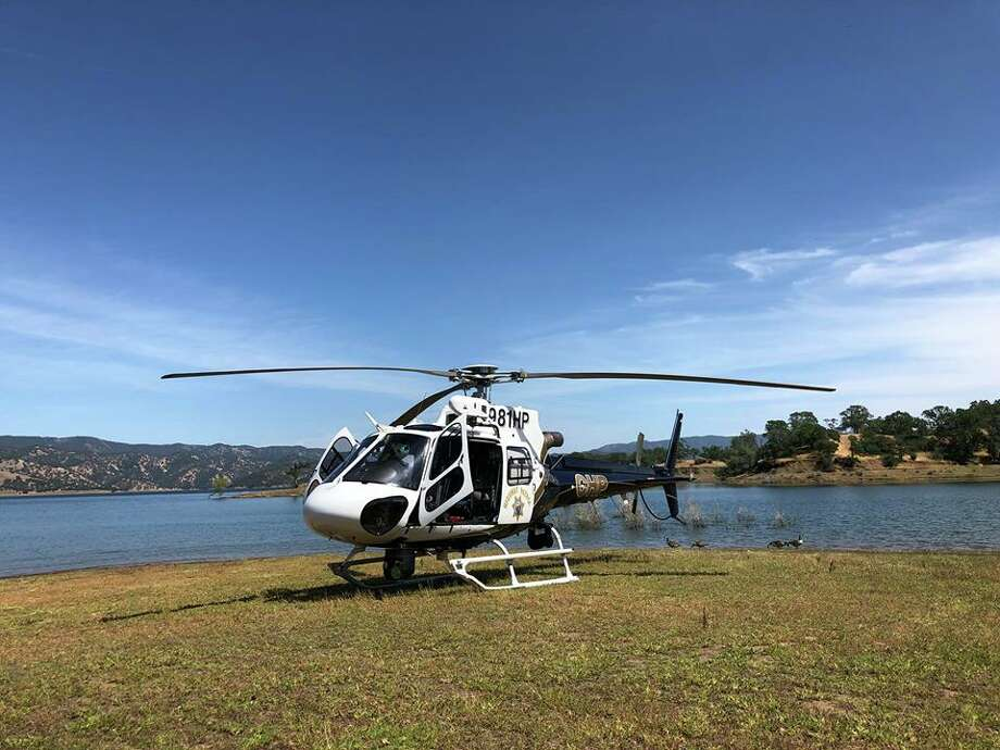 Two people were taken to the hospital during separate incidents near Lake Berryessa on Sunday, May 20, 2018. Photo: CHP Golden Gate Division