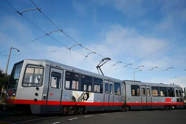 A Muni N-Judah streetcar turns around at La Playa Street for a return trip downtown in San Francisco, Calif. on Thursday, Aug. 27, 2015. Muni is getting ready to roll out a second round of major service improvements systemwide.