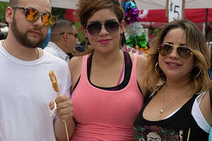 San Antonians indulged on a classic Alamo City matchup at the Big Red and Barbacoa Fest on Sunday, May 20, 2018.