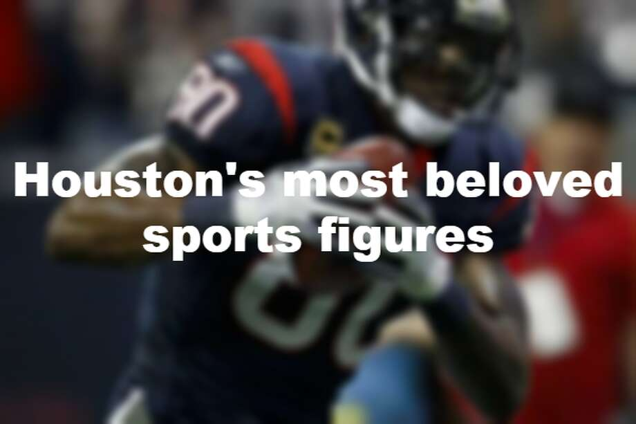 See Houston's most beloved sports figures throughout the city's history. Photo: File/Houston Chronicle