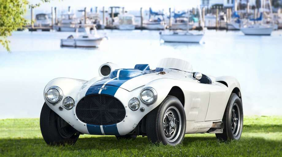 The 23rd annual Greenwich Concours d'Elegance, slated June 2-3, is at Roger Sherman Baldwin Park on scenic Greenwich Harbor. A collection of famous Briggs Cunningham race and street cars from the 1950s will be a highlight of the 2018 event. Above is the 1952 Cunningham C-4R, with Greenwich Harbor in the background. Photo: Concours D'Elegance / Contributed Photo
