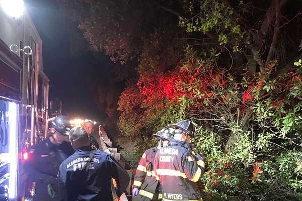 A 34-year-old man died over the weekend after his Tesla plunged into a pond in Castro Valley, authorities said.