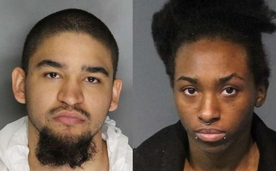 The Reno Police Department says married couple Tyler and Averyauna Anderson kept 5-year-old Cali Anderson's body inside a duffel bag in a closet at their Nevada residence since May 4, 2018. Photo: Courtesy Reno PD And Washoe County Jail