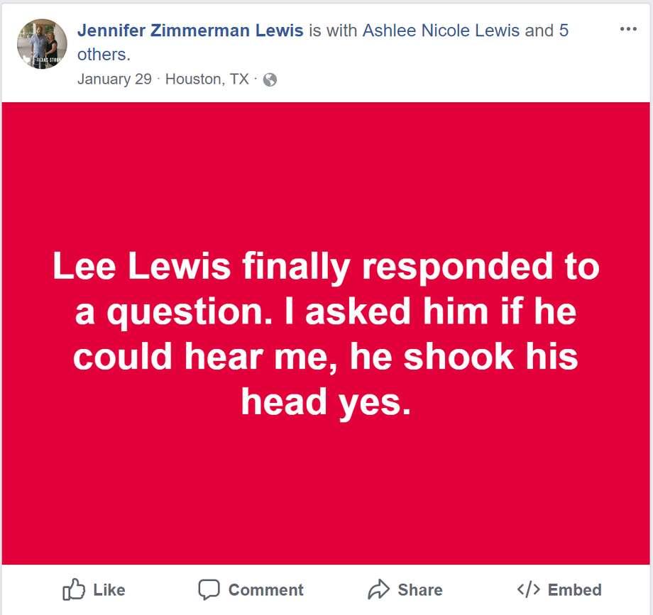 Jennifer Lewis FB posts Photo: Jennifer Lewis
