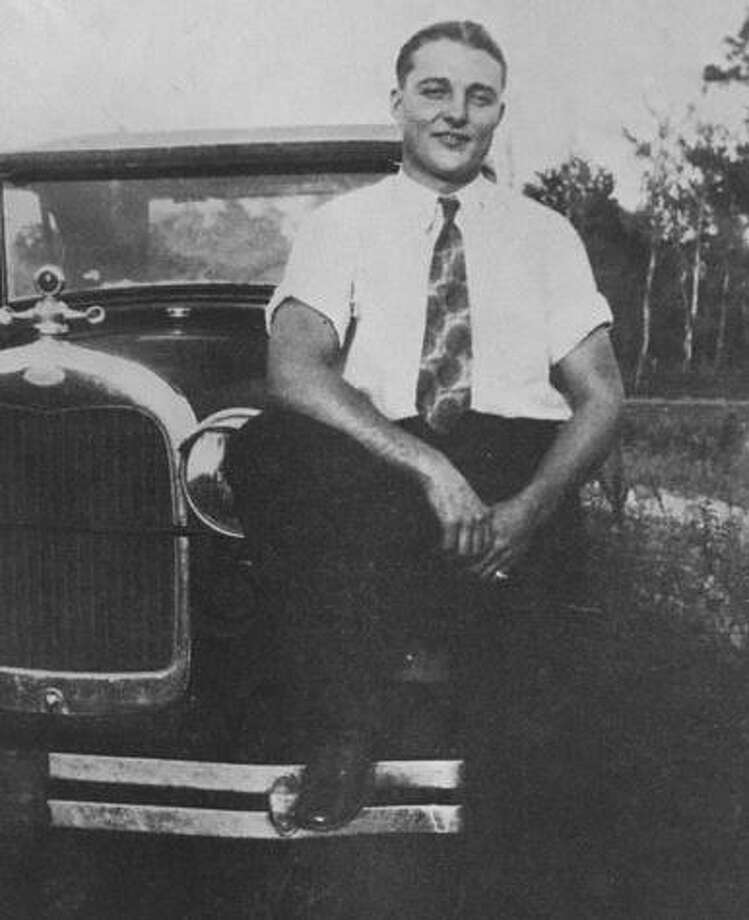 """Clint Peoples in 1929 a year after he graduated from Conroe High School. Photo: Photo From """"Captain Clint Peoples: Fifty Years A Lawman"""" / Photo From """"Captain Clint Peoples: Fifty Years A Lawman"""""""