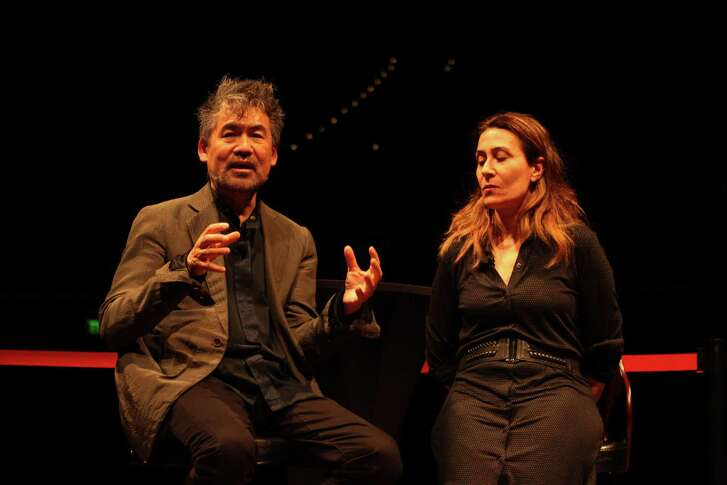 """Playwright David Henry Hwang and composer Jeanine Tesori discuss """"Soft Power."""""""
