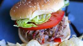 Ground goat, mixed with chopped pepper and onion, makes a great burger that's mild in flavor, similar to lamb.