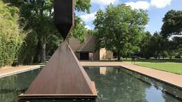 Images of the Rothko Chapel on Saturday, May 19, 2018