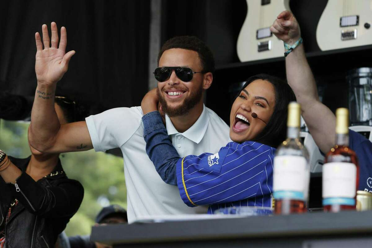 PHOTOS: The history of Stephen and Ayesha Curry Ayesha Curry (right), husband of Golden State star Stephen Curry, got into a verbal altercation with a Rockets fan after the Rockets beat the Warriors on Thursday night at Toyota Center. Browse through the photos above for the story behind Stephen and Ayesha Curry's relationship.