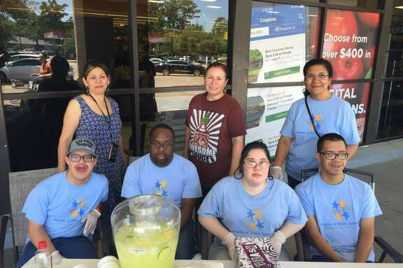 The Down Syndrome Academy provides opportunities for its students to continue learning after they age out of the school system. The students sold more than 1,000 cups of lemonade at nine Kroger stores across Houston.