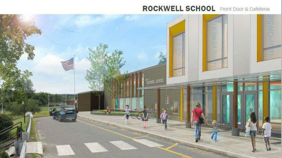 An architect's rendering of renovation plans for Rockwell in Bethel. Photo: Contributed Photo / Hearst Connecticut Media / The News-Times Contributed