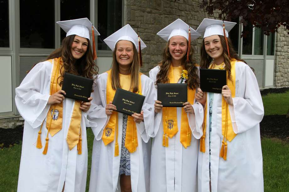 Scenes from Ubly's graduation Sunday. Photo: Coulter Mitchell/For The Tribune