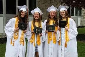 Scenes from Ubly's graduation Sunday.
