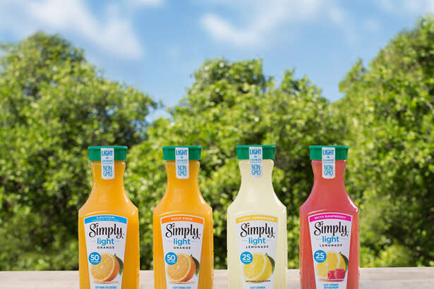Simply Light line of beverages will include Simply Light Orange Pulp Free, Simply Light Orange with Calcium & Vitamin D, Simply Light Lemonade and Simply Light Lemonade with Raspberry.