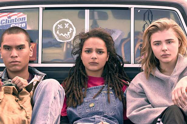 Forrest Goodluck, Sasha Lane and Chloe Grace Moretz in 'The Miseducation of Cameron Post'