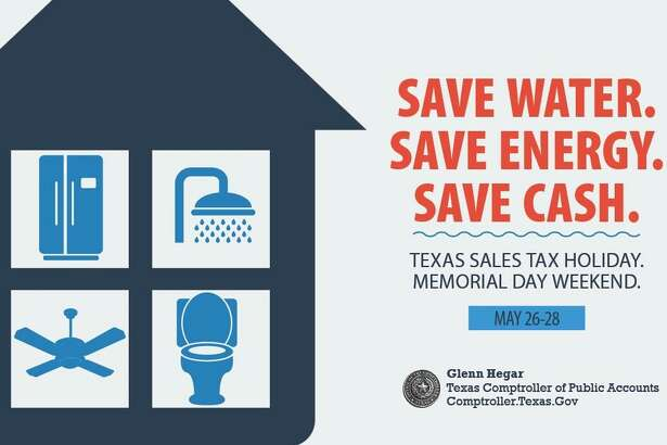 Texas families and businesses can save on the purchase of certain water- and energy-efficient products during the state's Water-Efficient Products and ENERGY STARsales tax holidays. Both take place Saturday, May 26, through Monday, May 28.