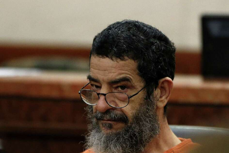 Ali Mahwood-Awad Irsan, 57, who is accused of gunning down an Iranian medical student, Gelareh Bagherzadeh in January 2012, appeared in 184th state District court on Thursday, April 30, 2015, in Houston.  ( Karen Warren / Houston Chronicle  )