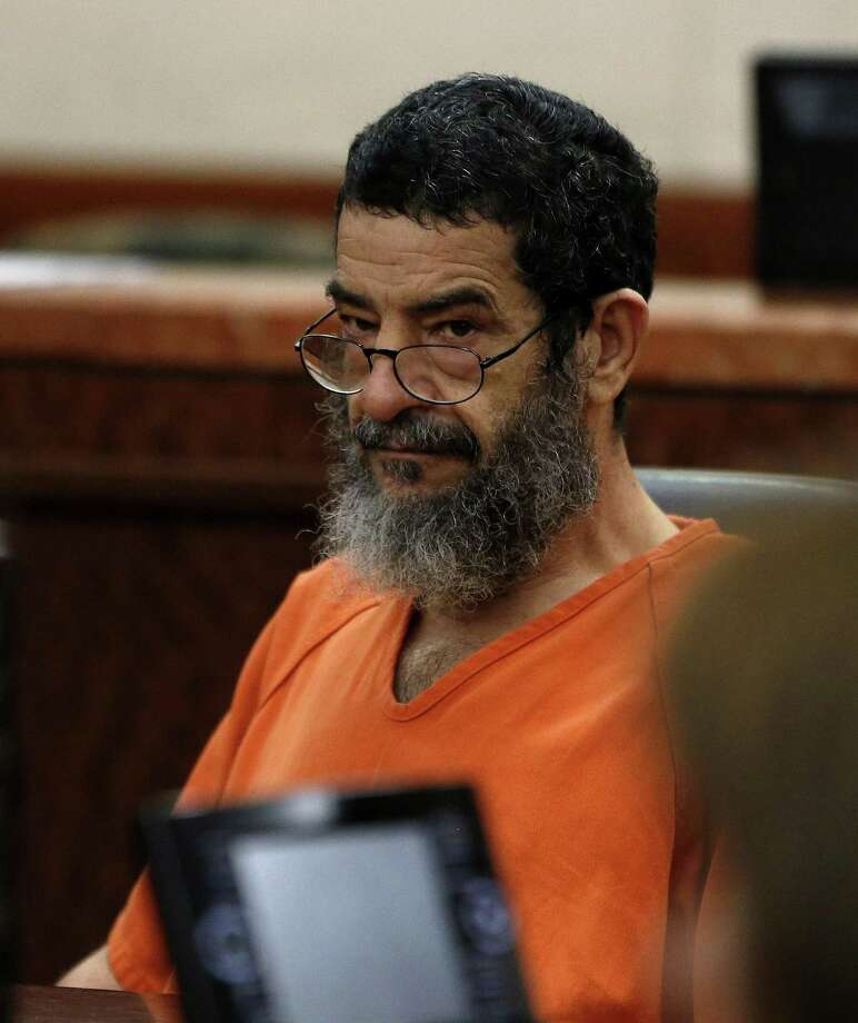 Ali Mahwood-Awad Irsan, 57, who is accused of gunning down an Iranian medical student, Gelareh Bagherzadeh in January 2012, appeared in 184th state District court on Thursday, April 30, 2015, in Houston.  ( Karen Warren / Houston Chronicle  ) Photo: Karen Warren, Staff / Houston Chronicle / © 2015 Houston Chronicle