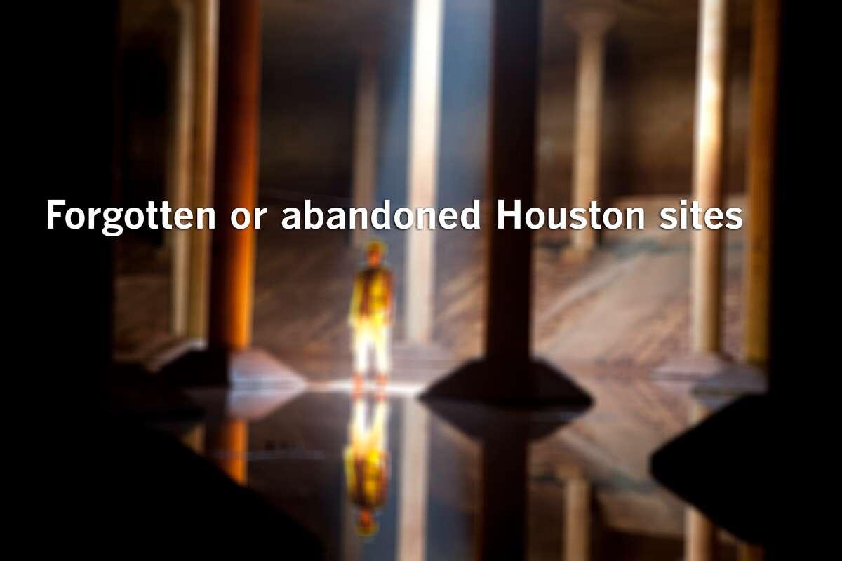 Take a tour around Houston's abandoned spots.