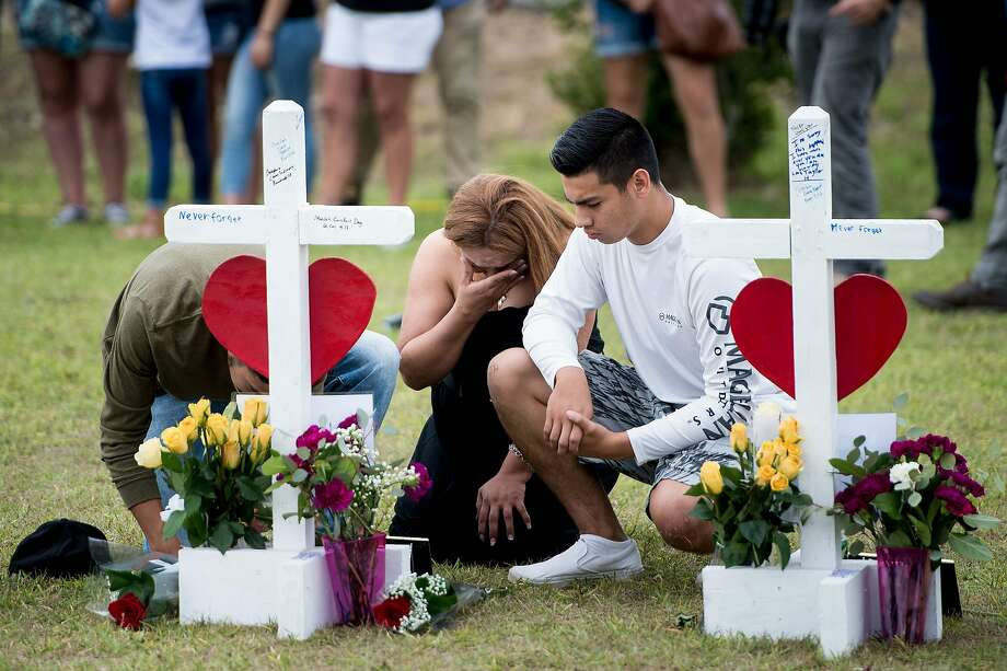 The parents of two of the victims killed in the Santa Fe shooting are suing the parents of the suspected killer.