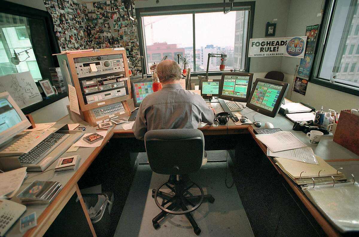 FILE - Longtime KFOG DJ Dave Morey in 2001.