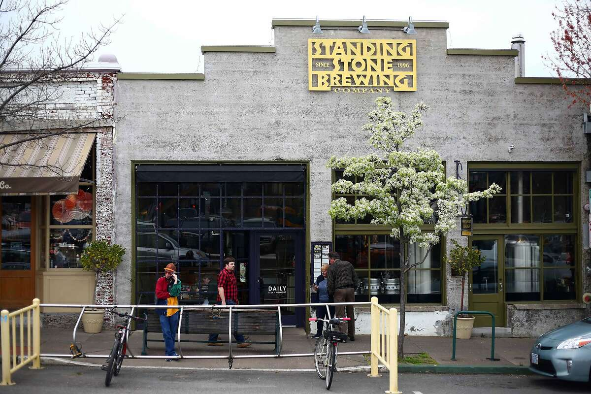 The Standing Stone Brewing Company in Ashland, Ore.