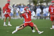 New Canaan's Cole Turpin is a senior on the Wesleyan men's lacrosse team. Wesleyan plays for the Division III national title on Sunday.