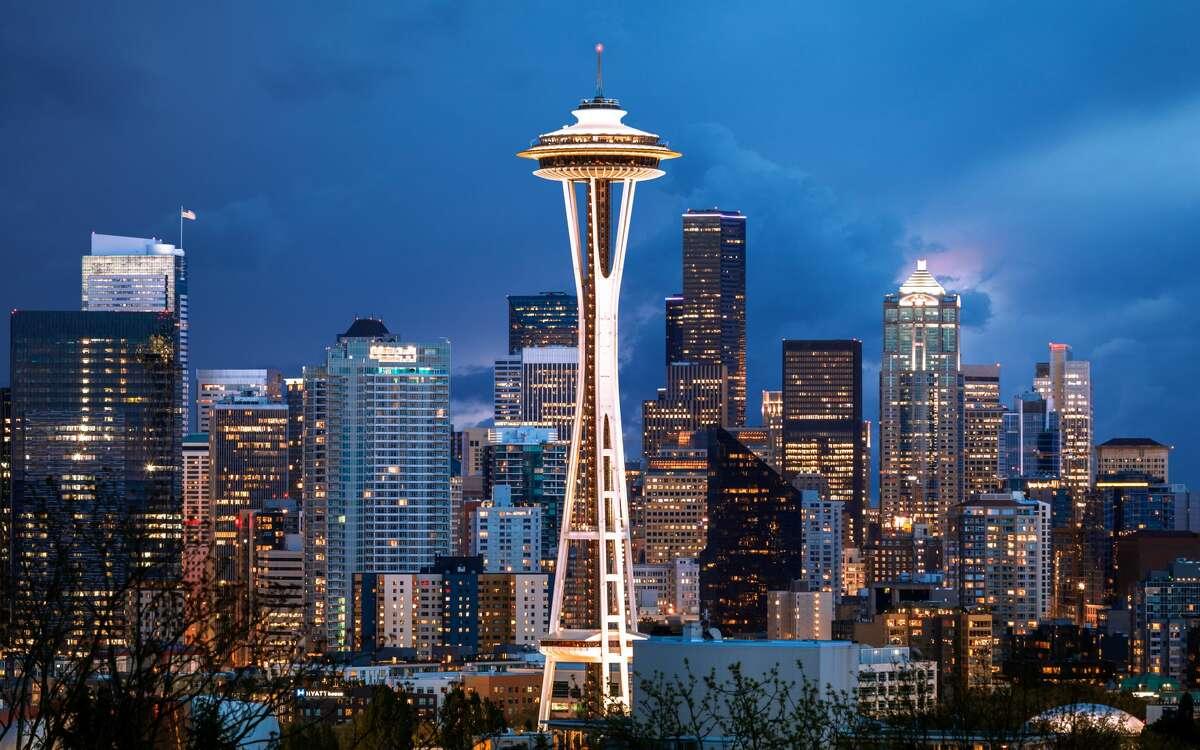 8) Seattle, WAMetro Movers Applying:3.1 percentOpen Jobs:57,981Median Base Salary:$61,000