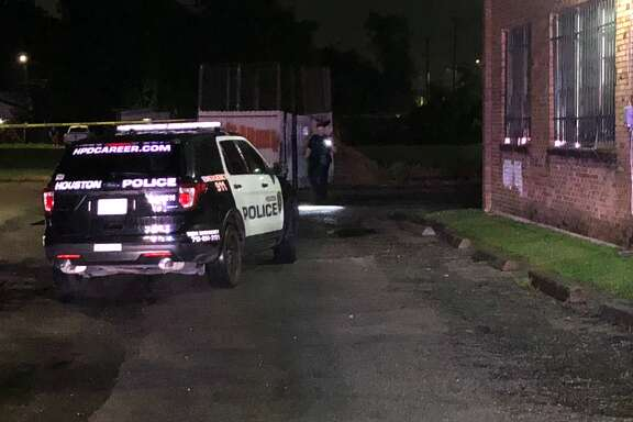 A man was shot in the leg after an altercation behind a north Houston church Monday, May 21, 2018.