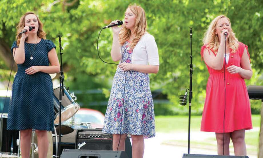 The Gibson Girls, from Jerseyville, perform at the second annual Pietown Gospel Music Festival in 2016. Photo:       Dan Cruz | For The Telegraph