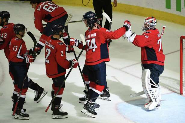 Braden Holtby was sensational in earning the shutout.