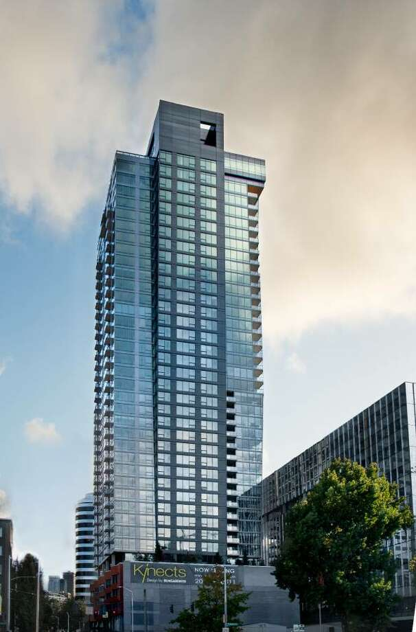 $8360 / 2br - 2052ft2 - Kinects Tower offers a two bedroom downtown that comes with lots of bling, including gym and rooftop pool.  Photo: Craigslist Seattle