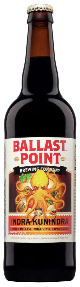 Ballast Point Brewing's Indra Kunindra India Style Export Stout will be among the new-to-the-area beers available for sampling at the 2013 Brewmasters Craft Beer Festival in Galveston. The craft beer industry enjoyed numerous years of double-digit volume sales growth, but those days appear to be over. Last year, craft beer grew 5 percent, mostly driven by growth in brewpubs and microbreweries - not larger brands, according to the Brewers Association, the craft industry trade group Photo: Ballast Point /Ballast Point Brewing