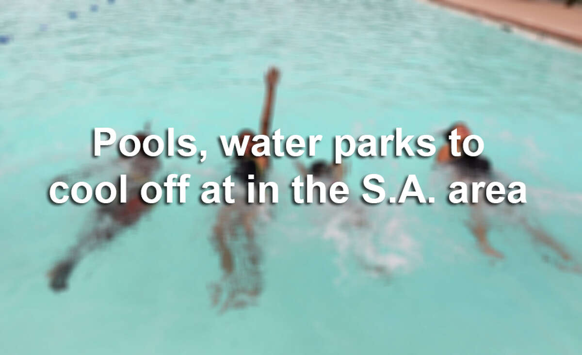 From city pools to exciting water parks, there are plenty of options for cooling off this summer. Click ahead to see the fun options in the San Antonio area.