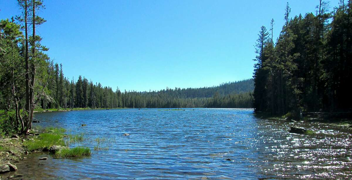 Haven Lake is one of a half dozen small lakes in the Lakes Basin Recreation Area in northern Tahoe National Forest that is open with campsites for Memorial Day Weekend
